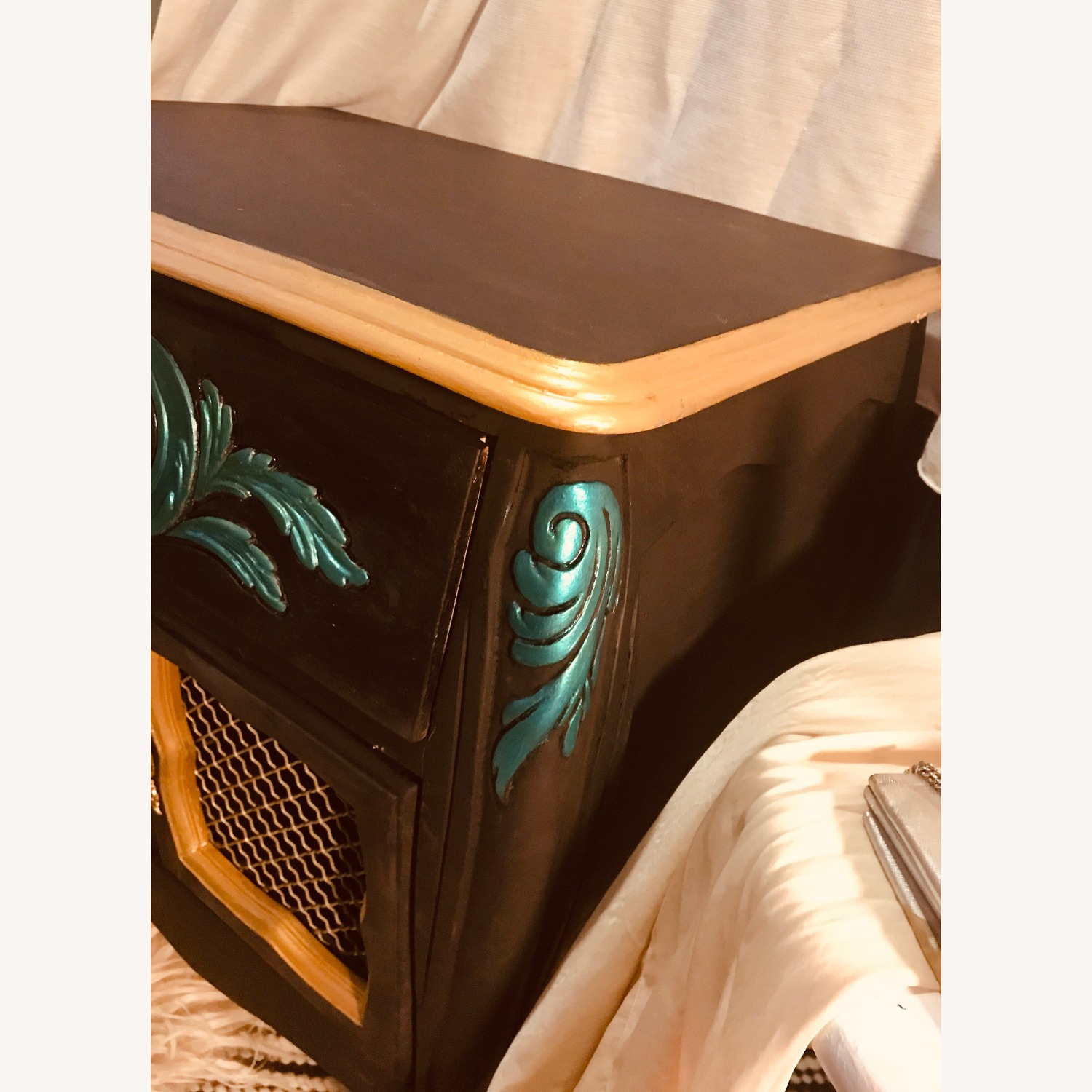 Midcentury French Provincial Dresser Nightstand