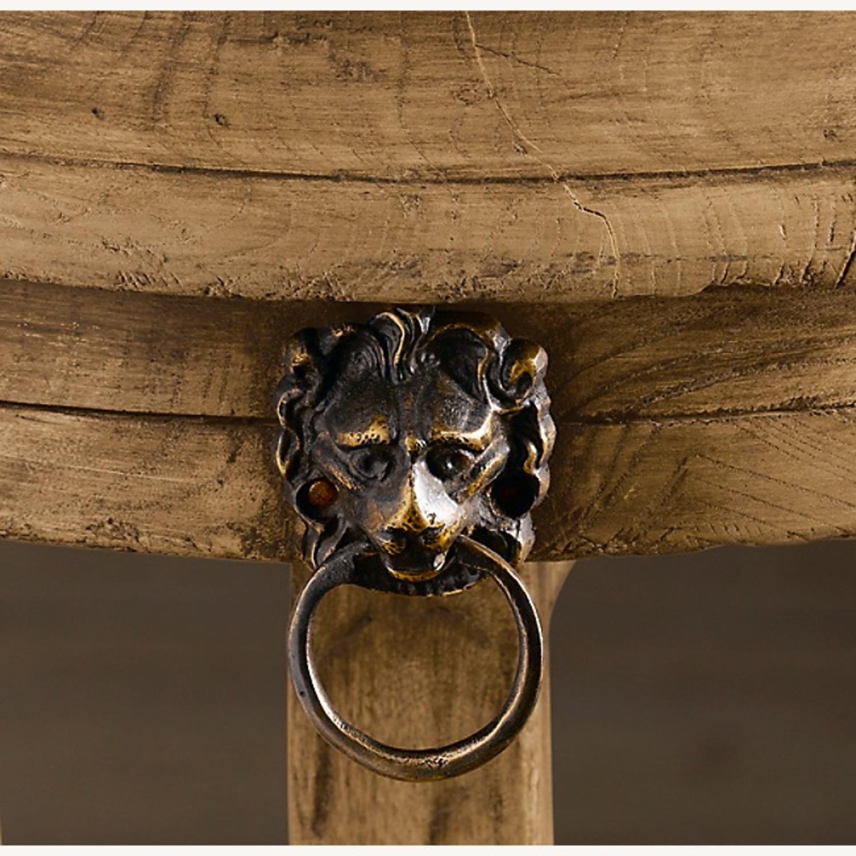 Restoration Hardware 18th C.Lion's Head Side Table - image-4