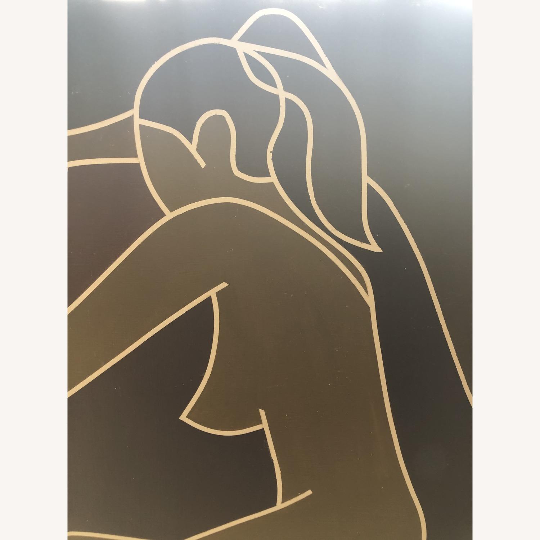 Vintage Modernist Female Nude Wall Art - image-4