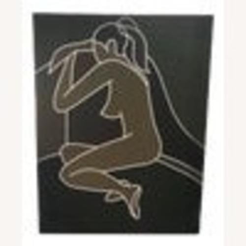 Used Vintage Modernist Female Nude Wall Art for sale on AptDeco