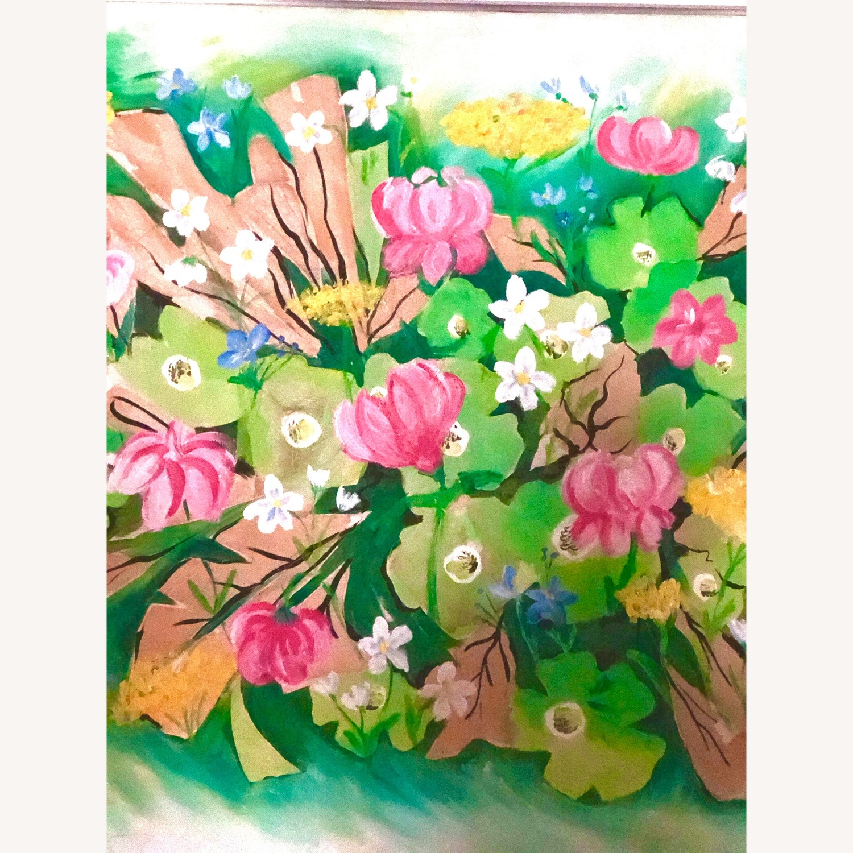 Original Vintage Spring Floral Still Life - image-6