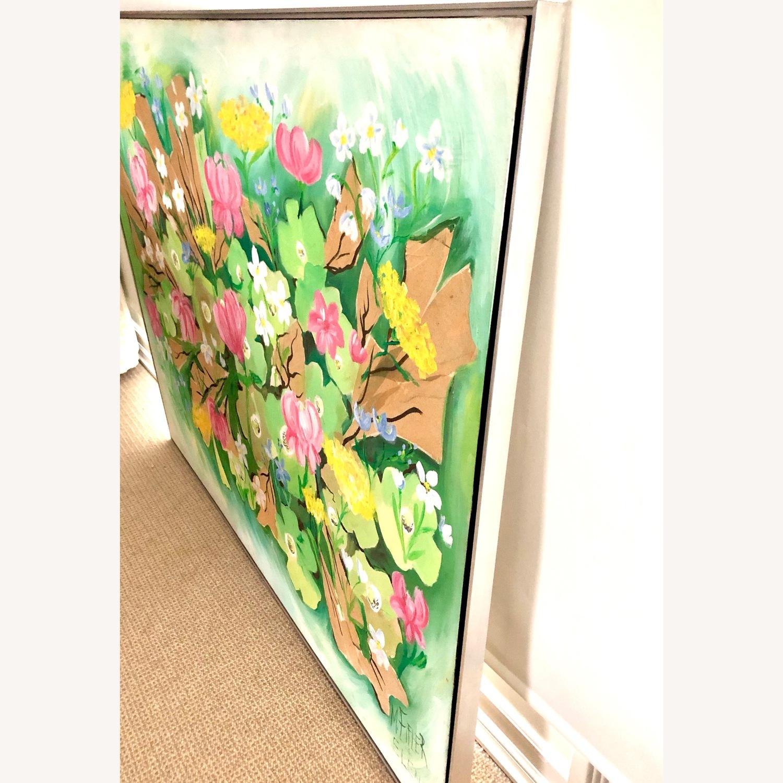 Original Vintage Spring Floral Still Life - image-7