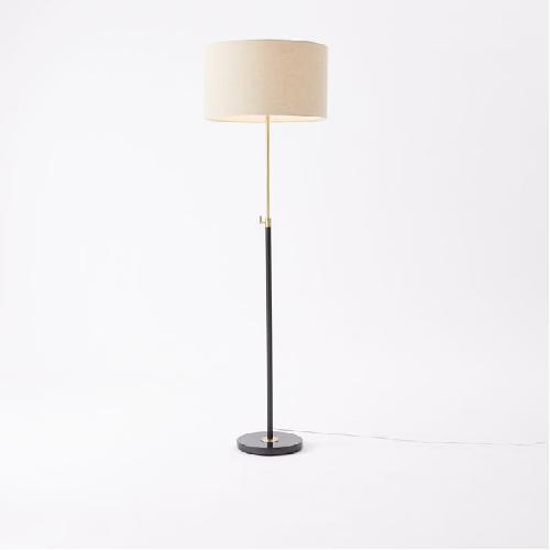 Used West Elm Telescoping Adjustable Floor Lamp for sale on AptDeco