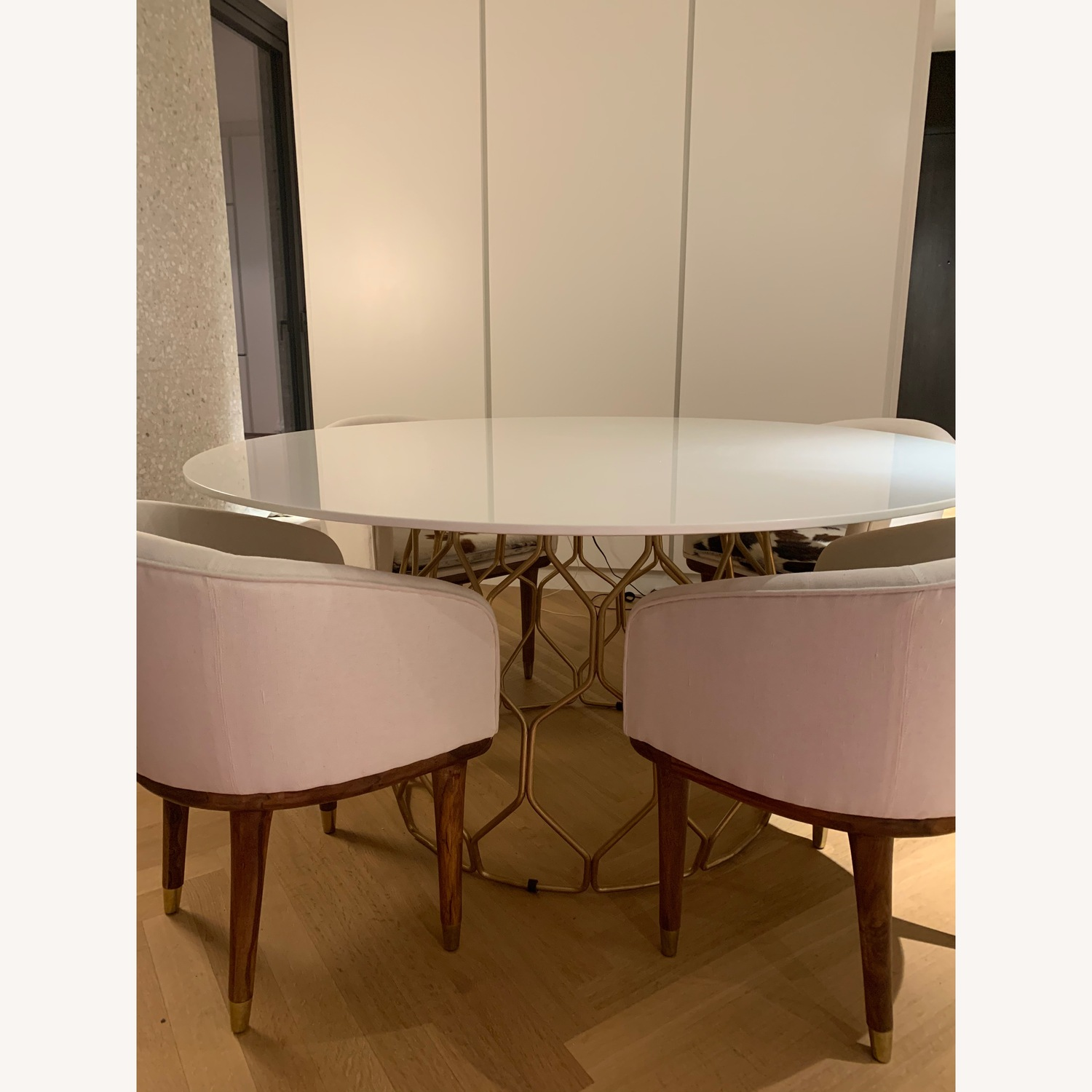 CB2 Circuit Dining Table
