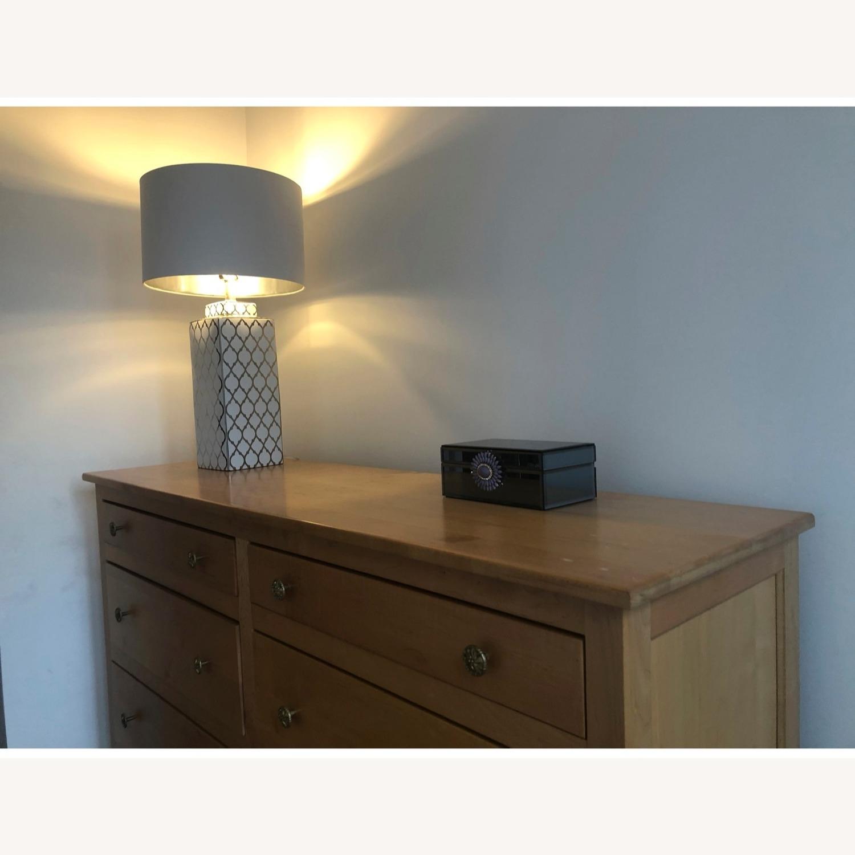 Natural Maple 8-Drawer Dresser