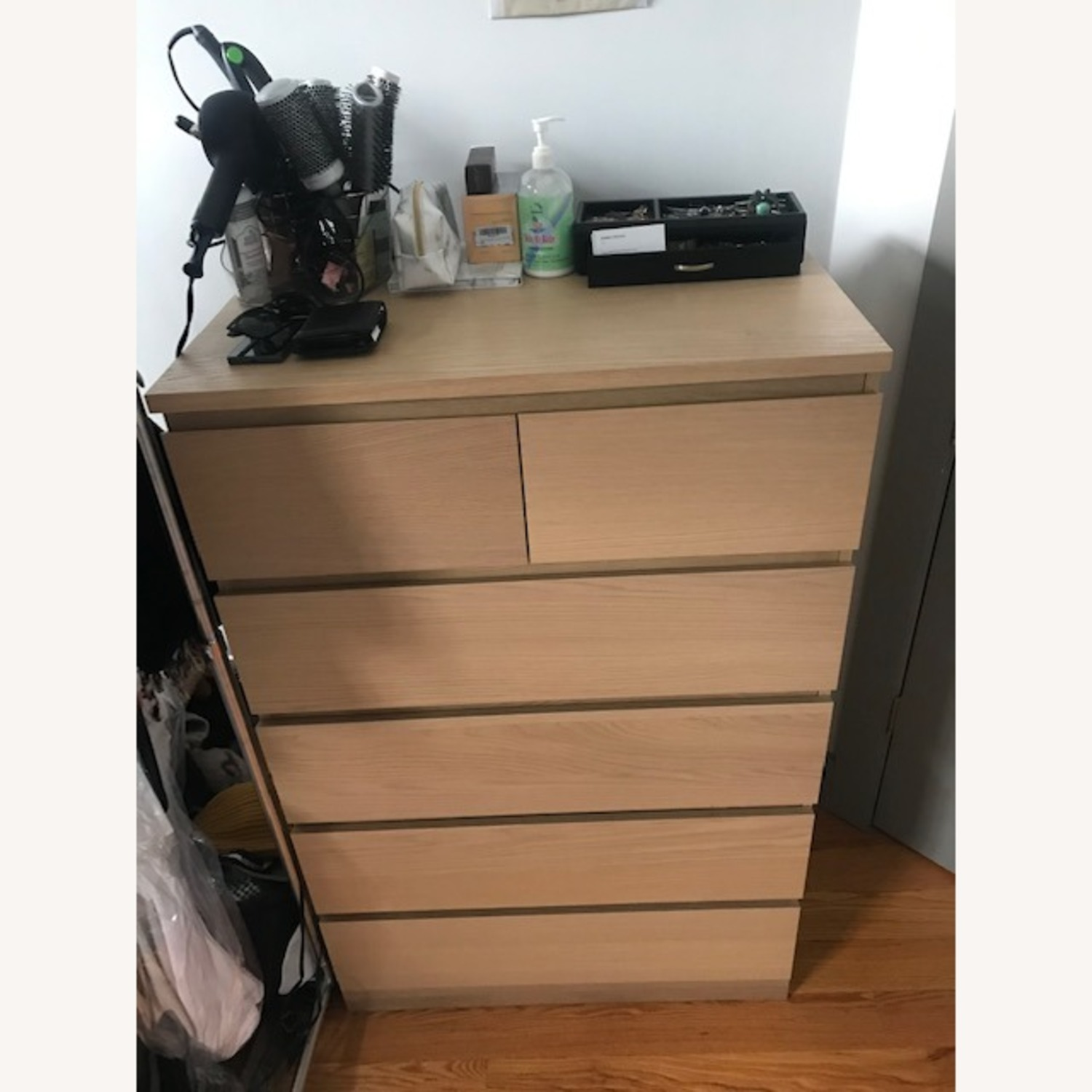 IKEA MALM 6 Drawer Chest