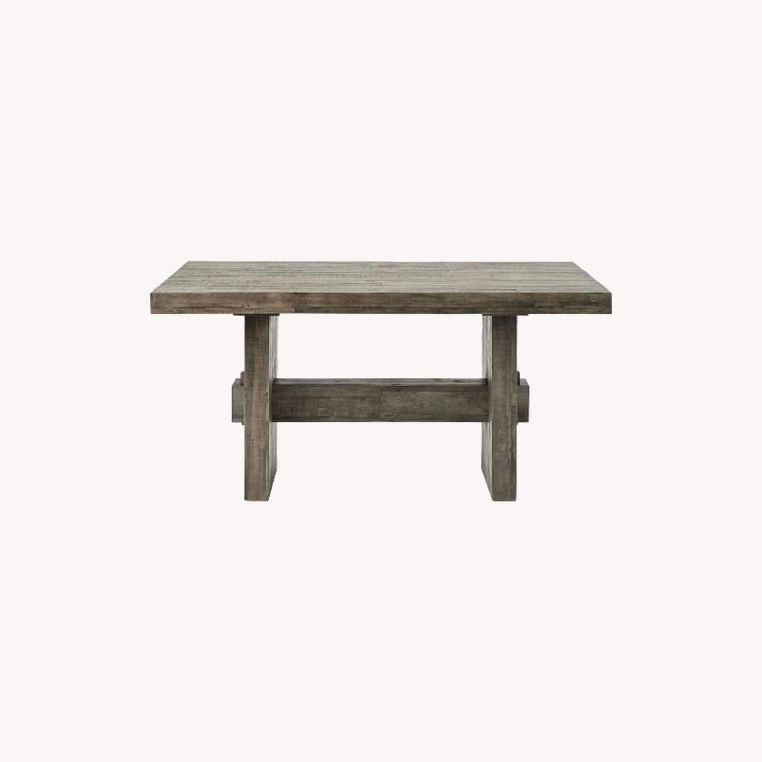 West Elm Emmerson Dining Table-Stone Grey