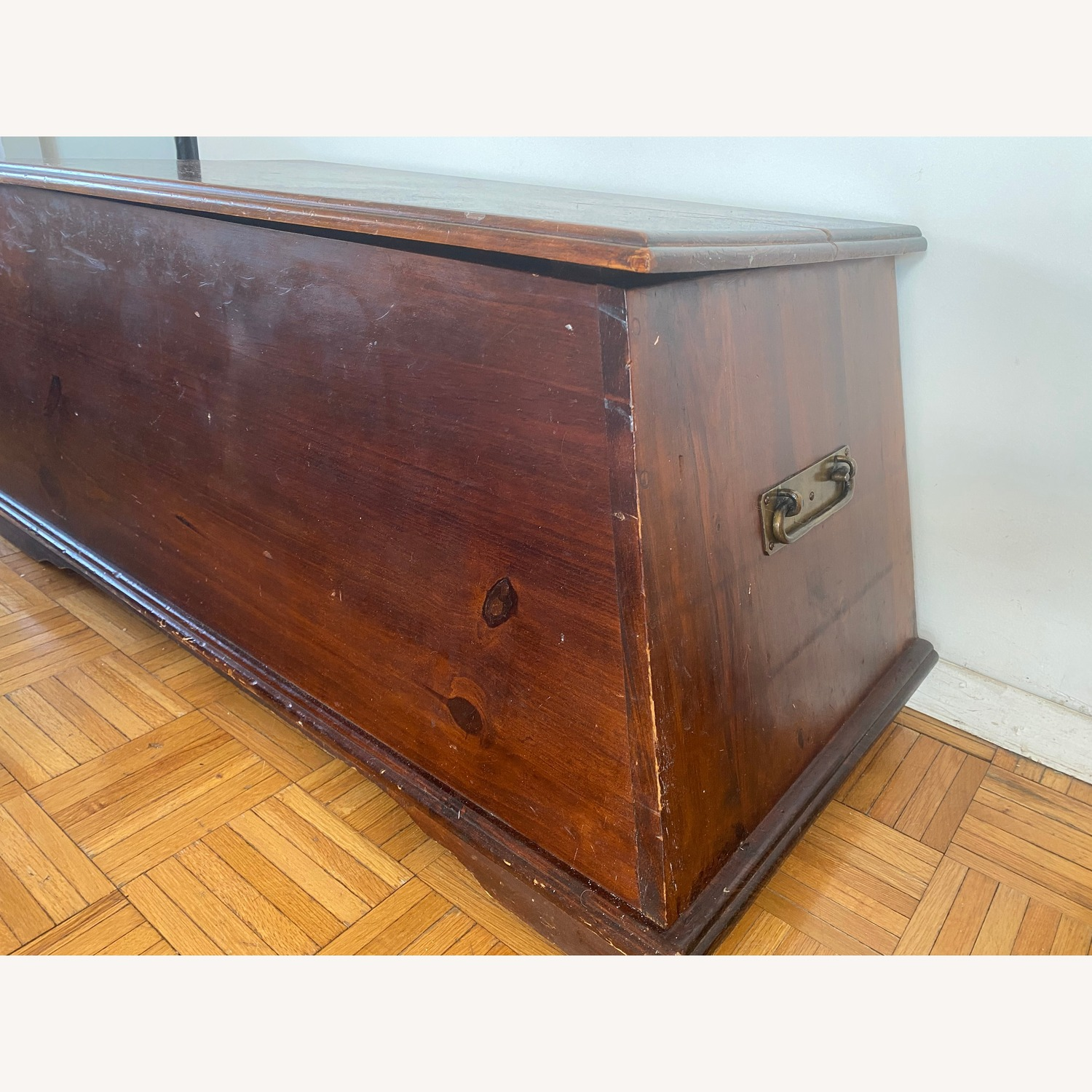 Pier 1 Imports Solid Wood Pyramid Trunk