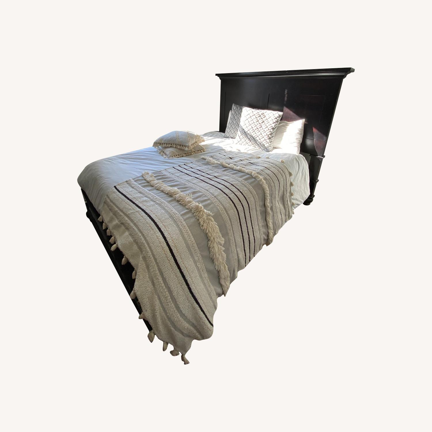 Restoration Hardware Queen-Size Bed Frame - image-0
