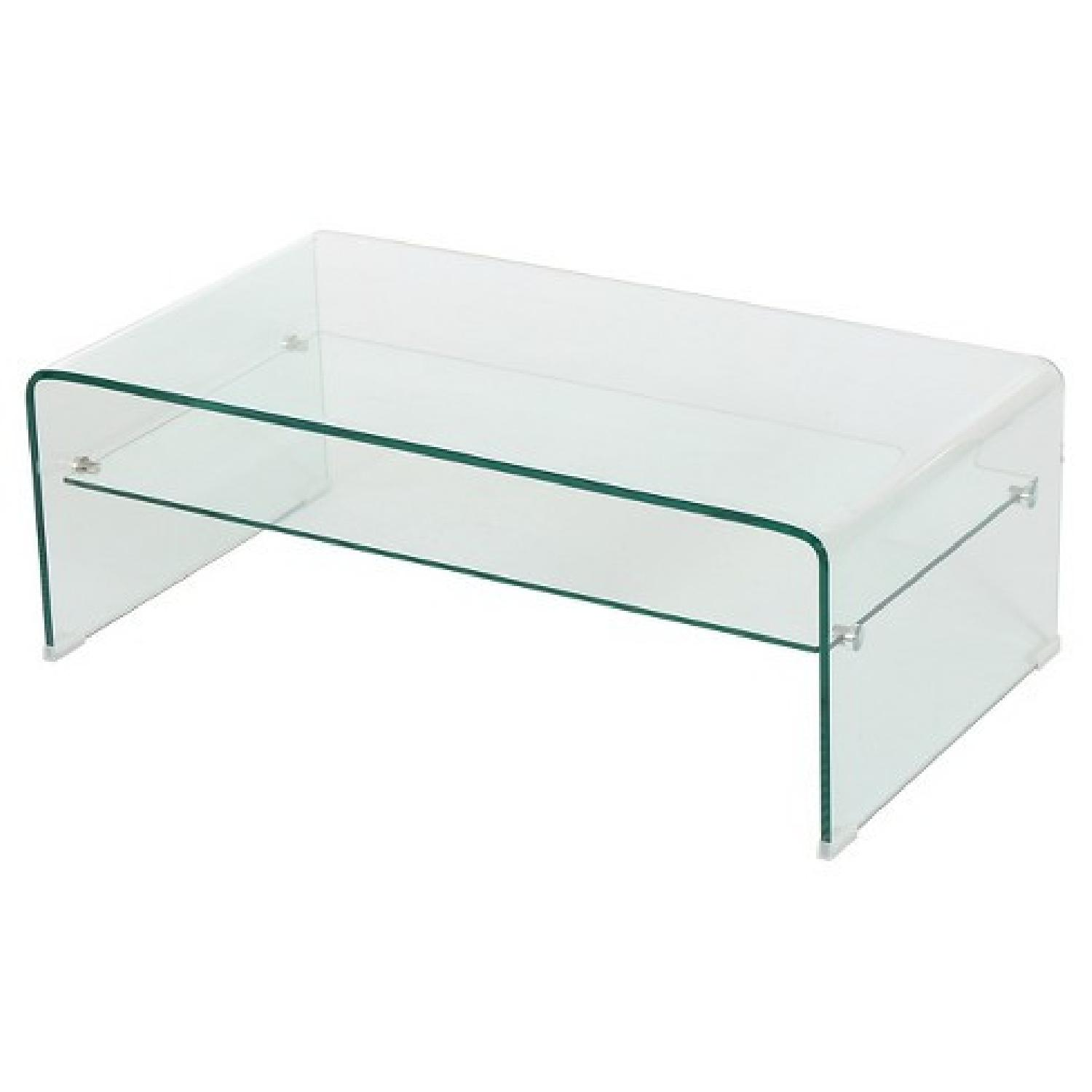 Christopher Knight Glass Coffee Table