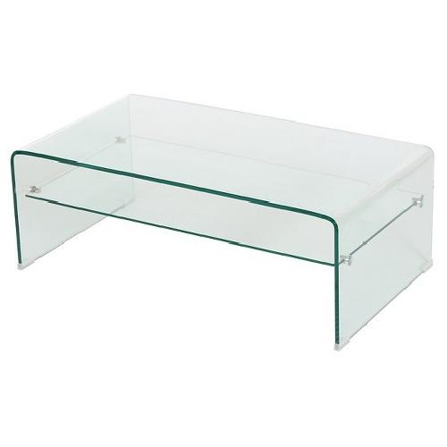 Used Christopher Knight Glass Coffee Table for sale on AptDeco