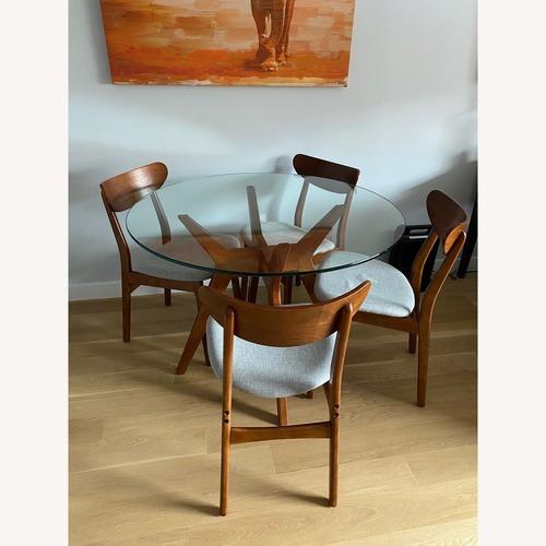 Used West Elm Mid Century Dining Room Set for sale on AptDeco