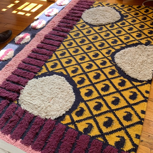 Used Anthropologie Multicolor Rug for sale on AptDeco