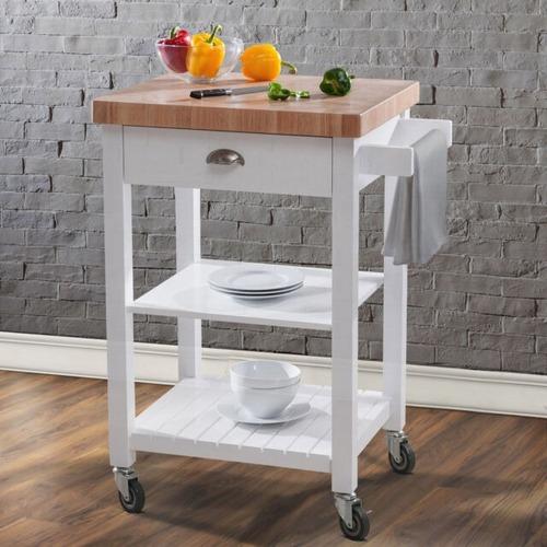 Used Wayfair Haller Kitchen Cart for sale on AptDeco