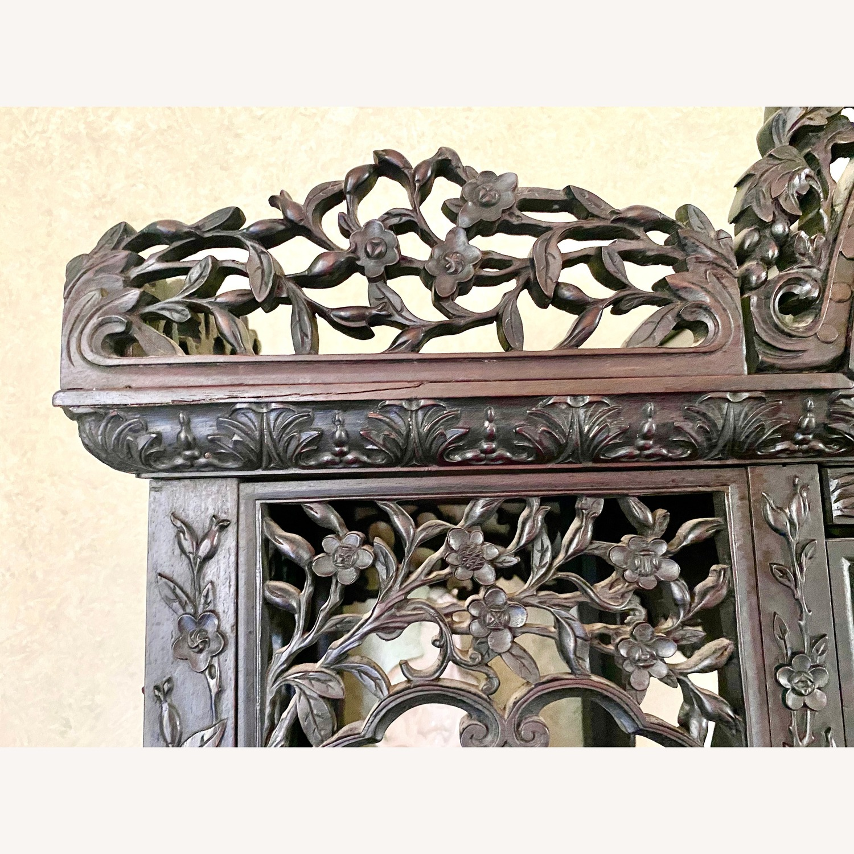 Qing Dynasty Zitan Curio Cabinet - image-7