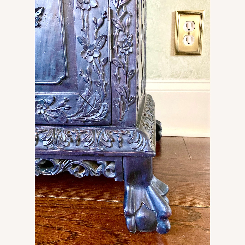 Qing Dynasty Zitan Curio Cabinet - image-10