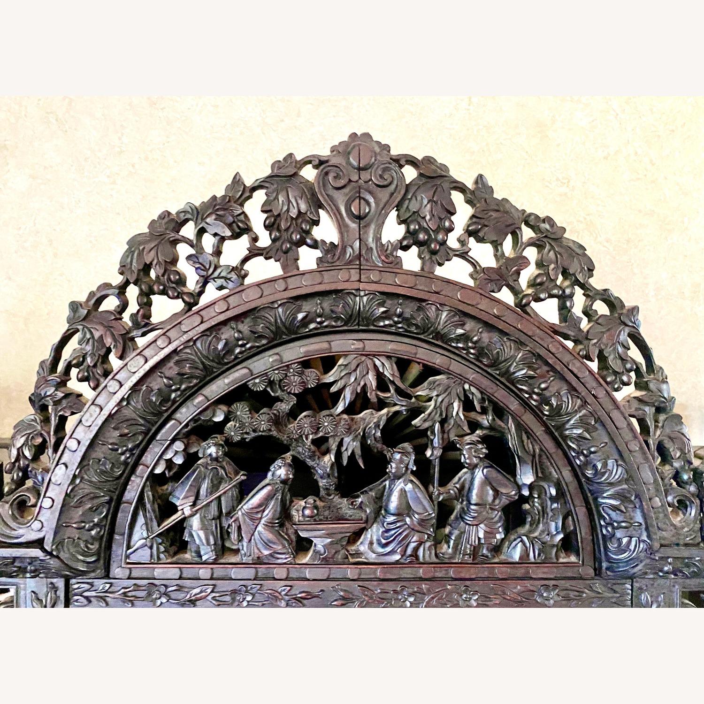 Qing Dynasty Zitan Curio Cabinet - image-5