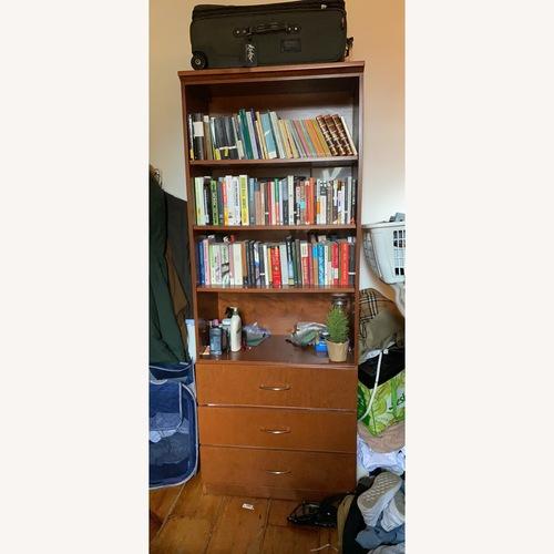 Used Gothic Cabinet Craft Bookshelf/Dresser Combo for sale on AptDeco