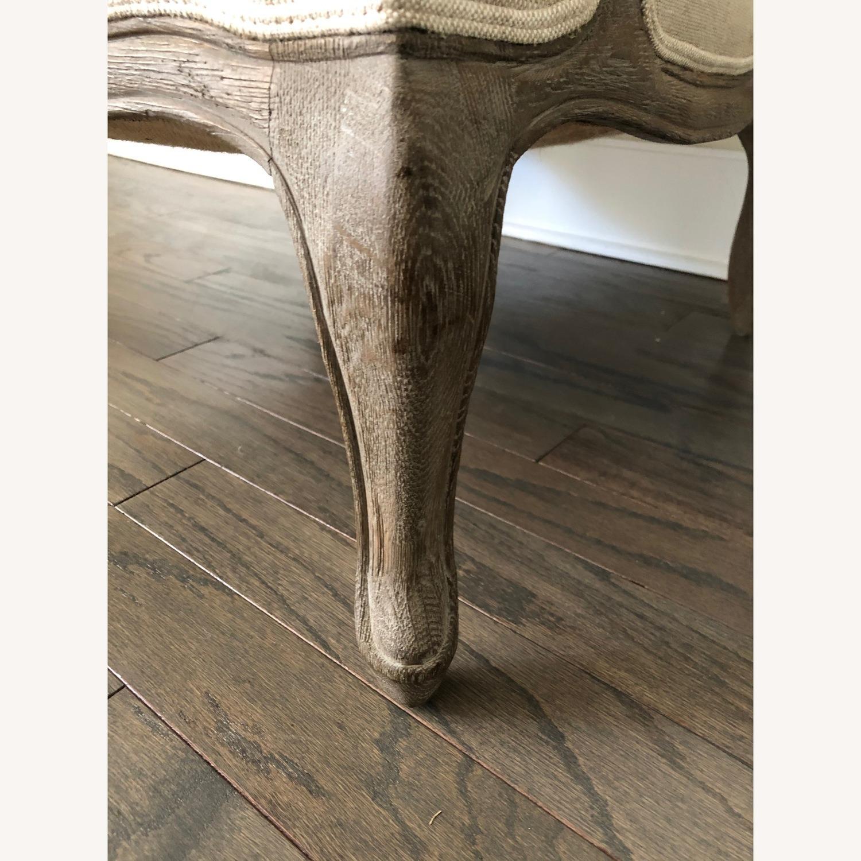 Restoration Hardware Marsailles Chair & Ottoman - image-3