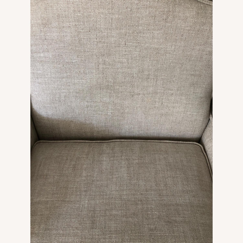 Restoration Hardware Marsailles Chair & Ottoman - image-5