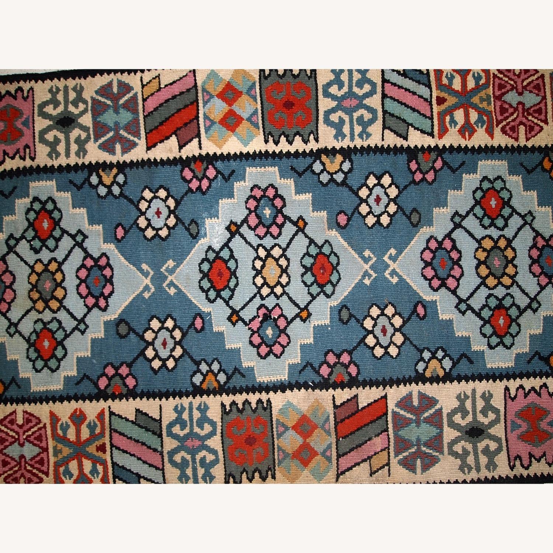 Handmade Vintage Turkish Kayseri Kilim - image-7