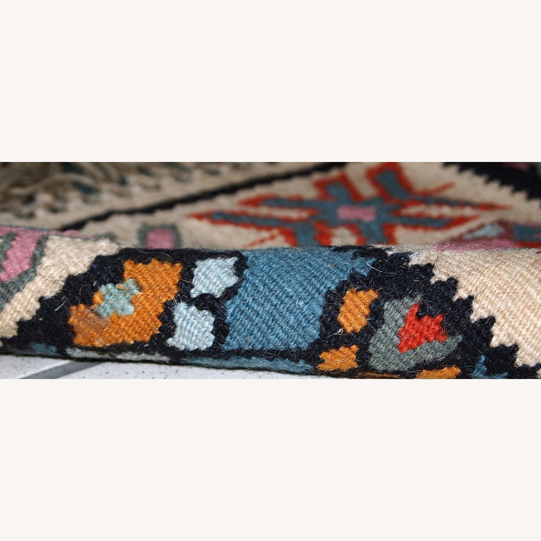 Handmade Vintage Turkish Kayseri Kilim - image-2