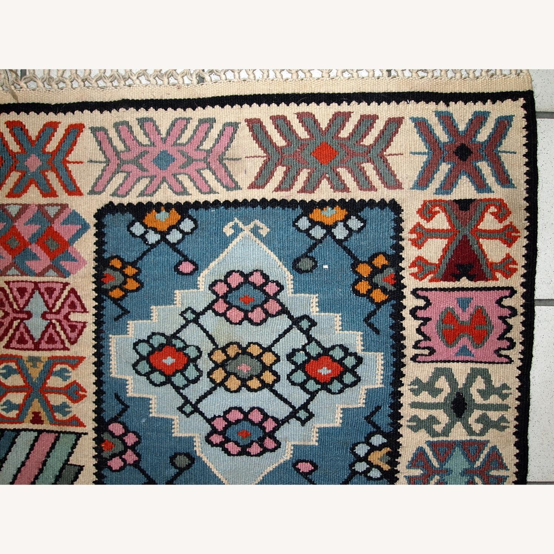 Handmade Vintage Turkish Kayseri Kilim - image-3
