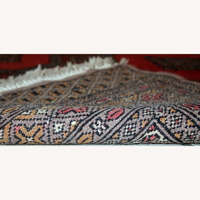 Handmade Vintage Uzbek Bukhara Rug - image-2