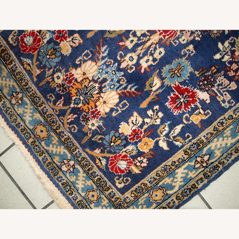 Handmade Vintage Persian Tehran Rug - image-5