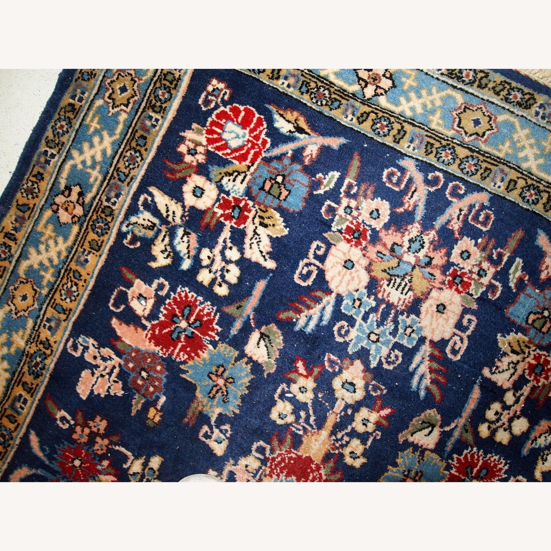 Handmade Vintage Persian Tehran Rug - image-8