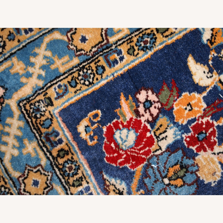 Handmade Vintage Persian Tehran Rug - image-6