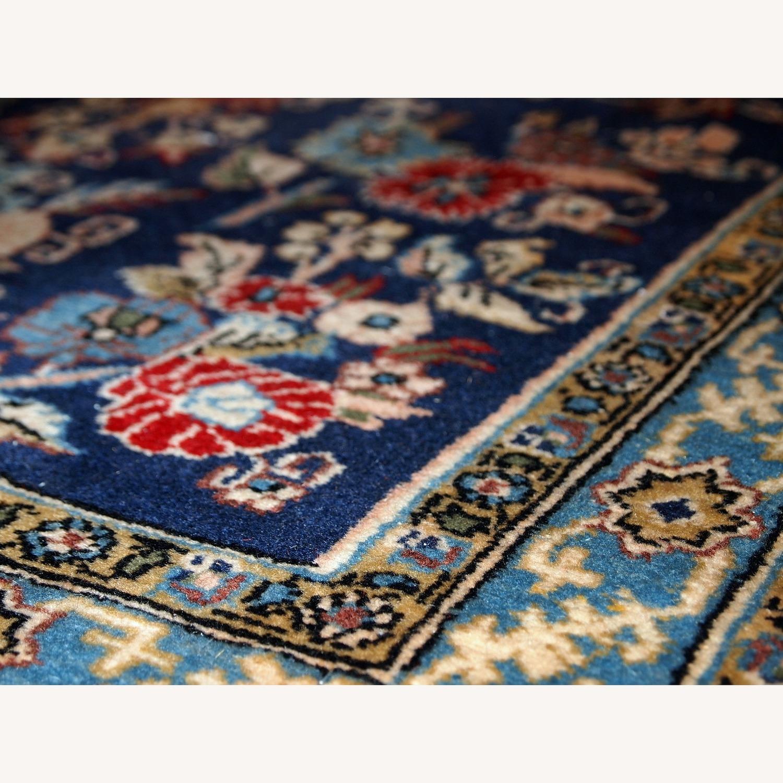 Handmade Vintage Persian Tehran Rug - image-10