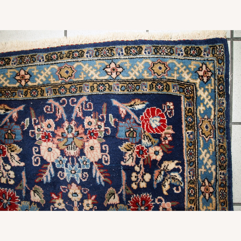 Handmade Vintage Persian Tehran Rug - image-4