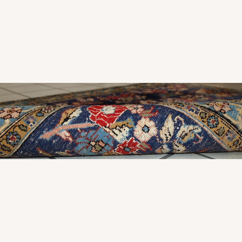 Handmade Vintage Persian Tehran Rug - image-2