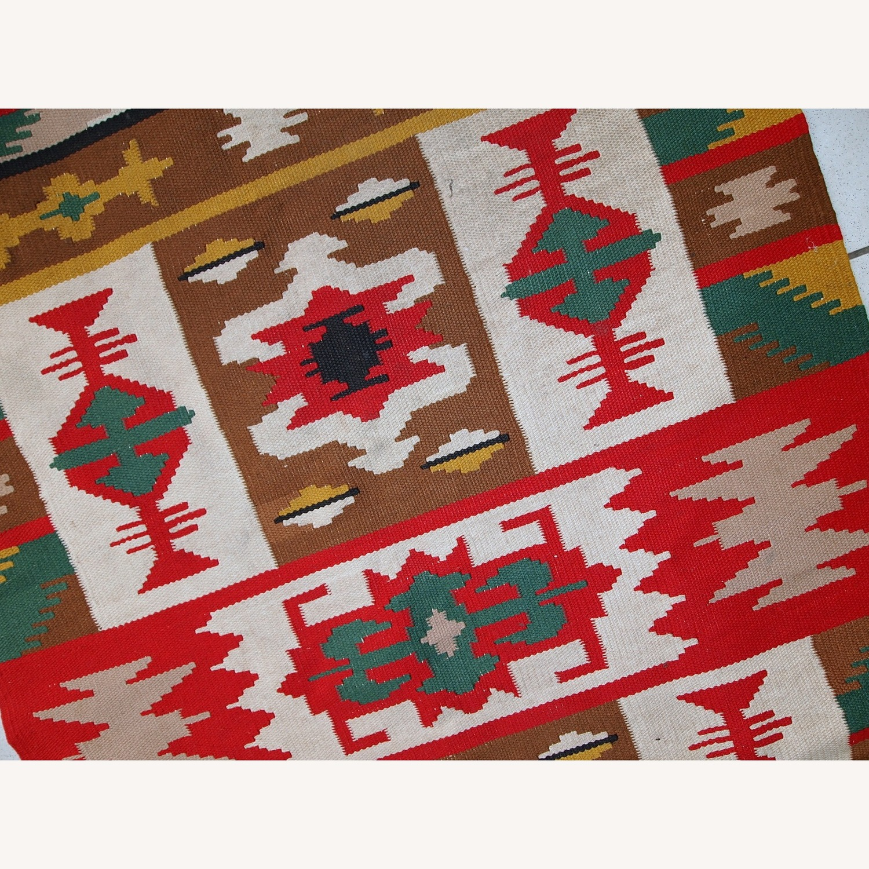 Handmade Vintage Turkish Anatolian Kilim - image-3