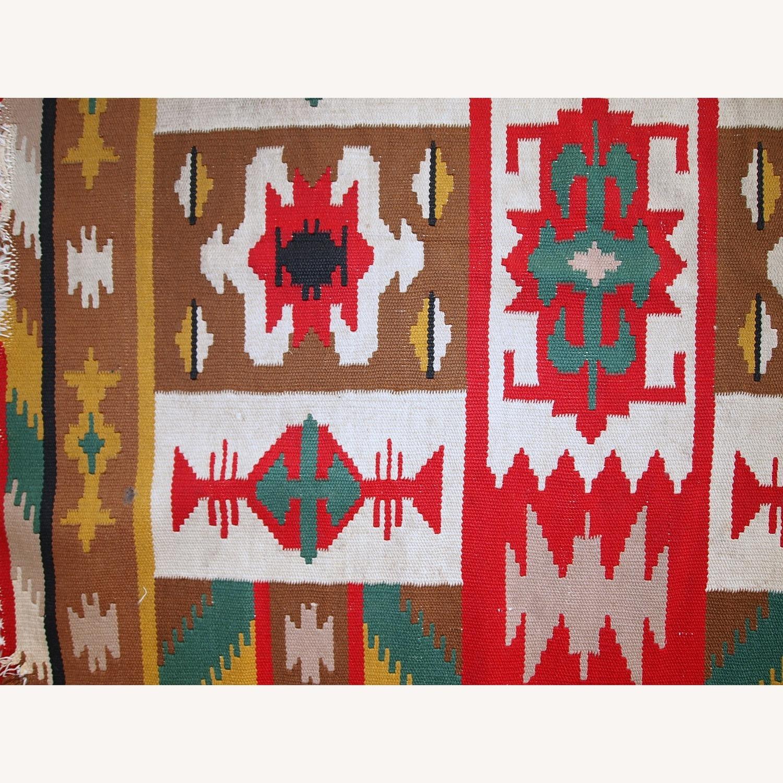 Handmade Vintage Turkish Anatolian Kilim - image-4