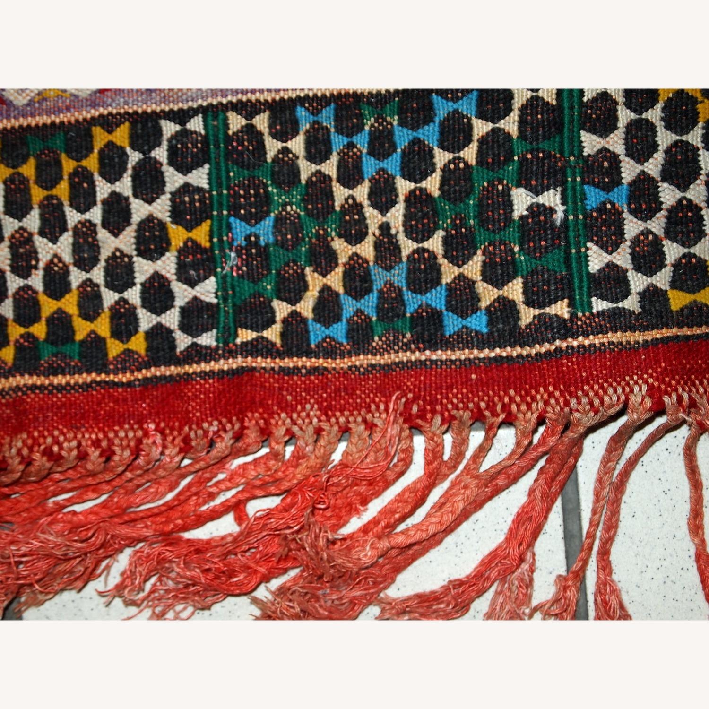 Handmade Vintage Tunisian Flat-weave Kilim - image-10