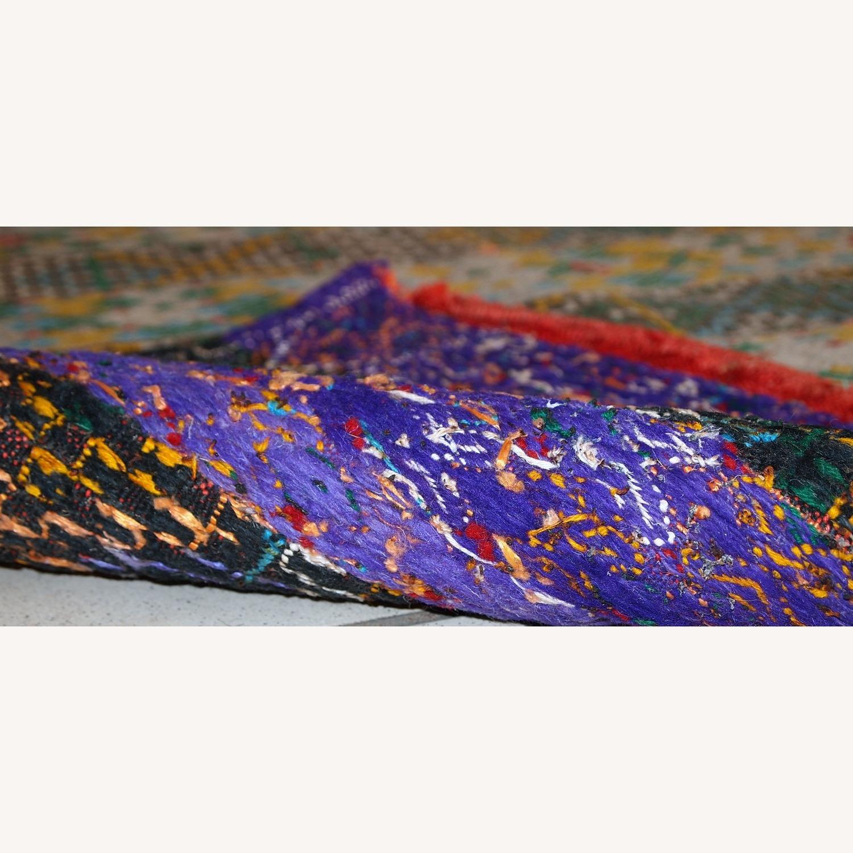 Handmade Vintage Tunisian Flat-weave Kilim - image-3