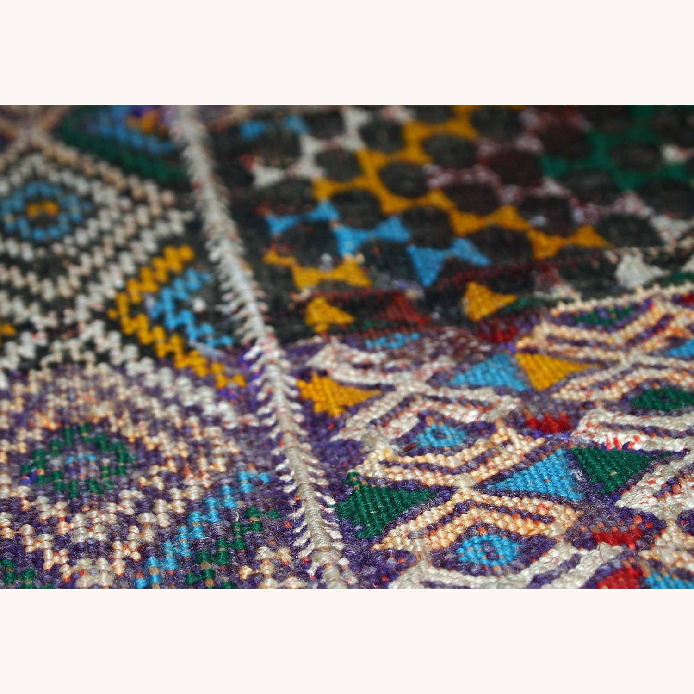 Handmade Vintage Tunisian Flat-weave Kilim - image-7