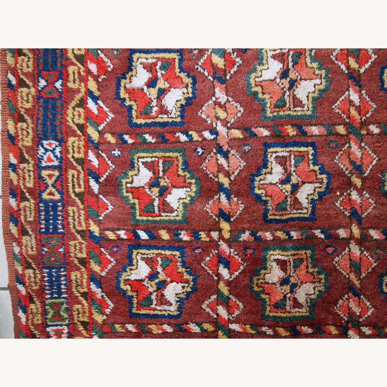 Handmade Antique Persian Kurdish Rug - image-4