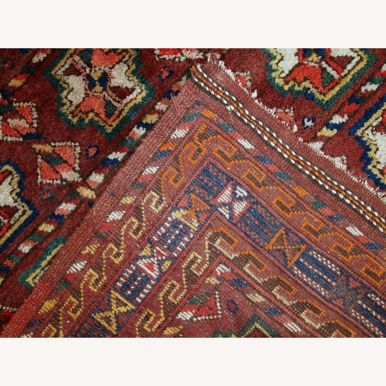 Handmade Antique Persian Kurdish Rug - image-9