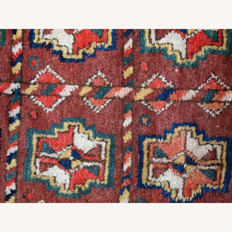 Handmade Antique Persian Kurdish Rug - image-5