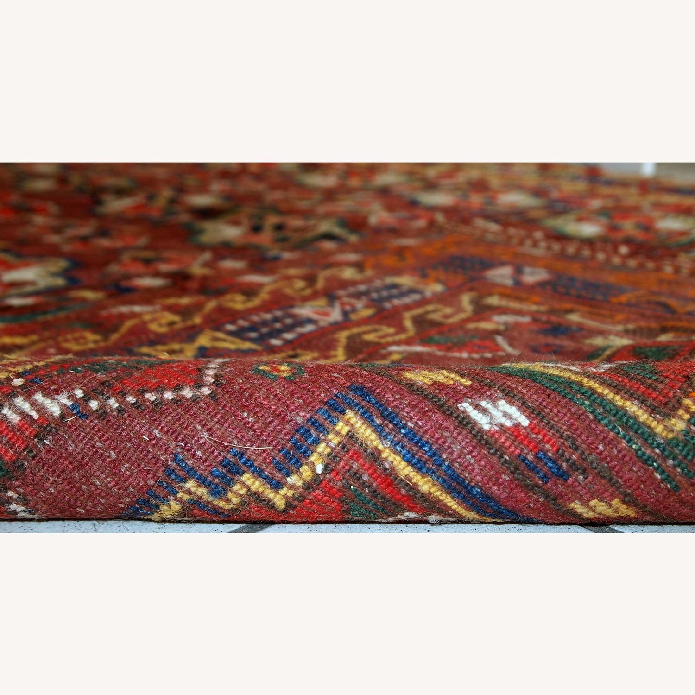 Handmade Antique Persian Kurdish Rug - image-3