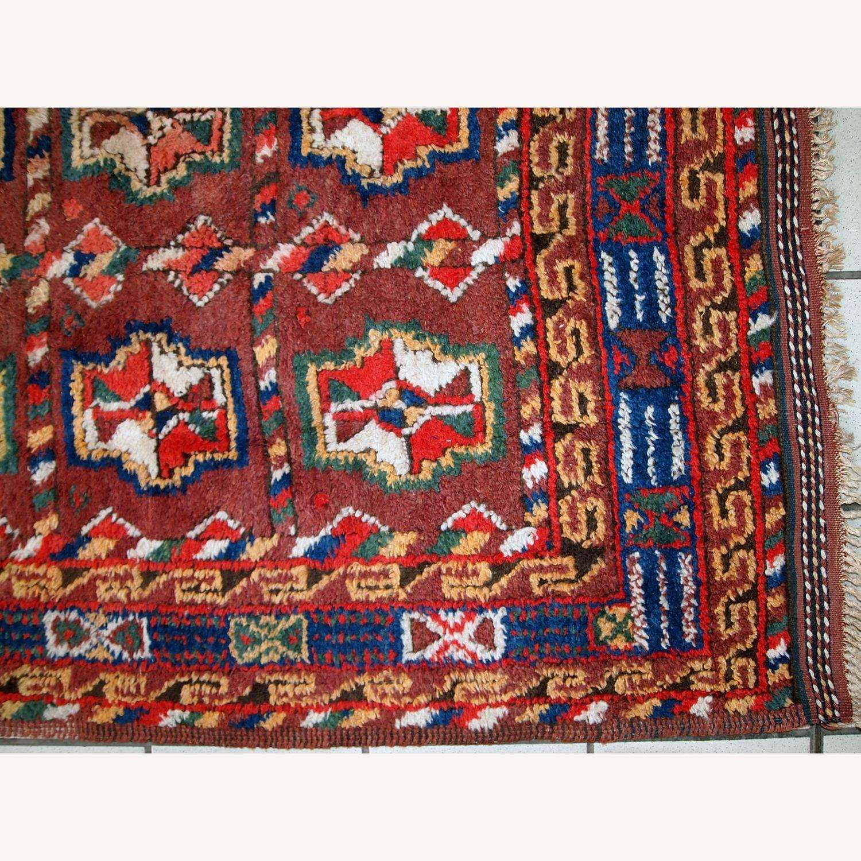 Handmade Antique Persian Kurdish Rug - image-8