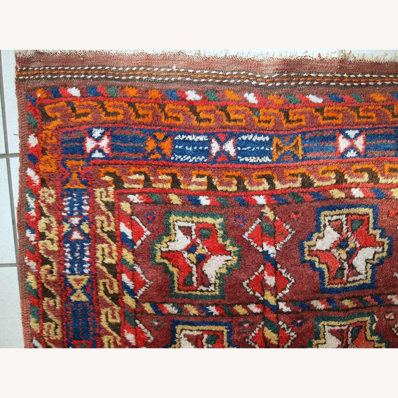 Handmade Antique Persian Kurdish Rug - image-2