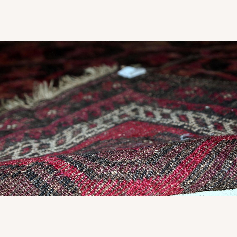 Handmade Antique Afghan Baluch Rug - image-8