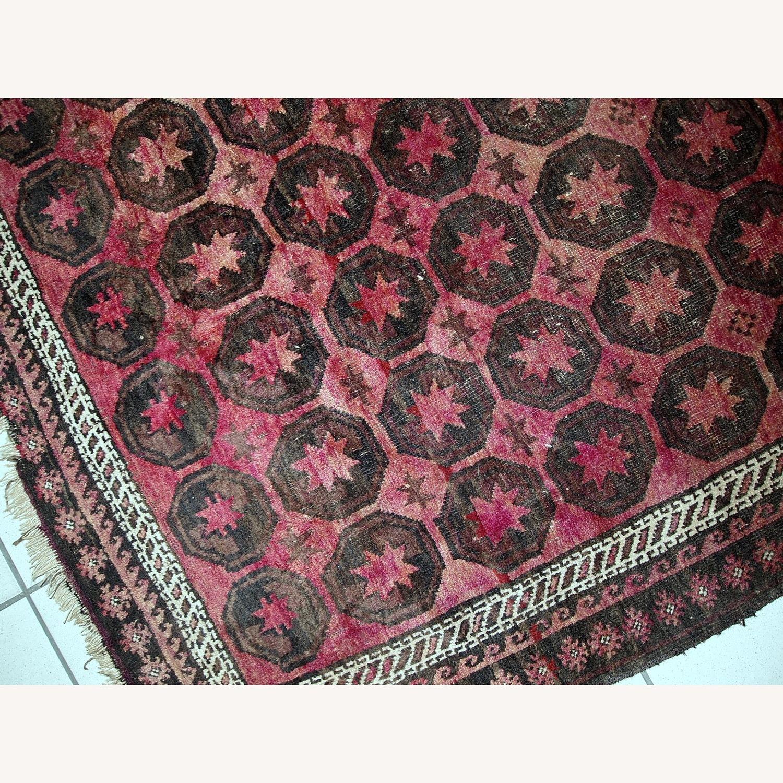 Handmade Antique Afghan Baluch Rug - image-6