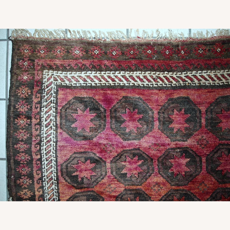 Handmade Antique Afghan Baluch Rug - image-3
