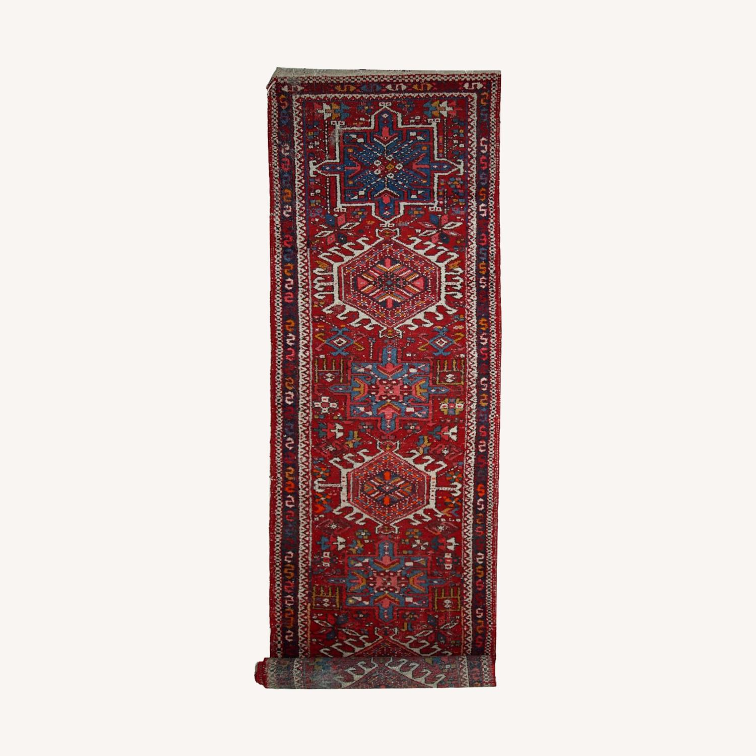 Handmade Antique Persian Karajeh Runner - image-0