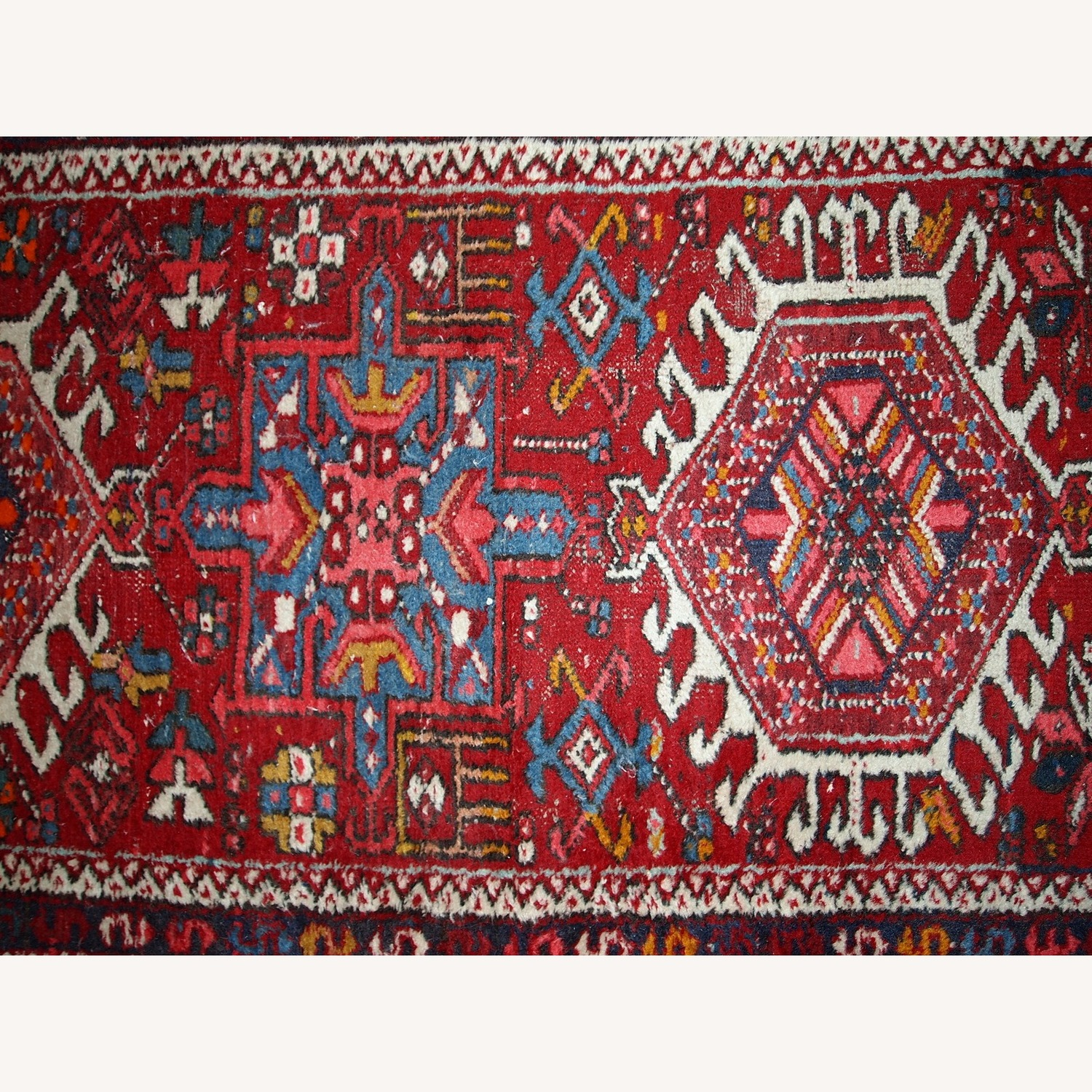 Handmade Antique Persian Karajeh Runner - image-3